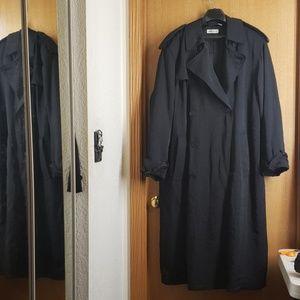 Vintage 80s Men's Giorgio Armani Trench Coat 40